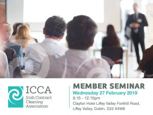 Member Seminar – Wednesday 27/02/19