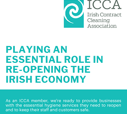 Essential role of contract cleaning sector in reopening the economy